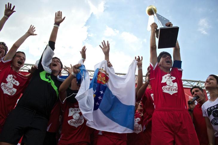 Copa Coca-Cola 2014 Final Campeon Deportivo Galicia 1